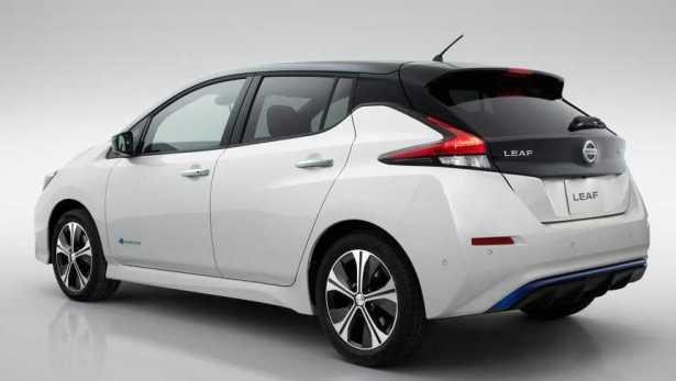 New 2018 Nissan Leaf rear
