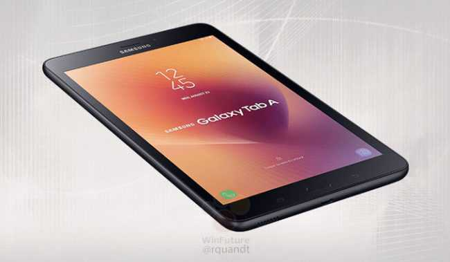Inch 2017 Samsung Galaxy Tab A Gets Official