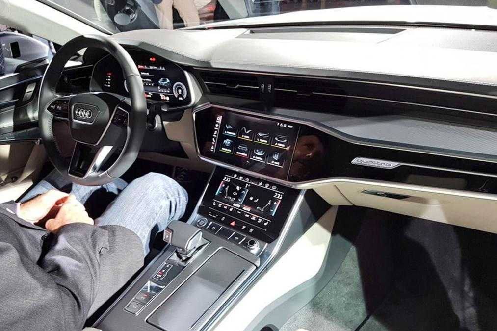 2018 Audi A7 Sportback with MLB Evo Platform Uses All-Hybrid Engines