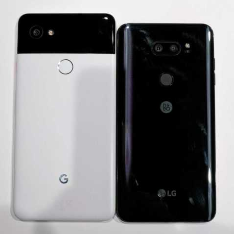 LG V30 and Google Pixel 2 XL