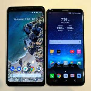 LG V30 and Google Pixel 2 XL