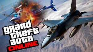GTA 5's GTA Online to Get a Fighter Jet