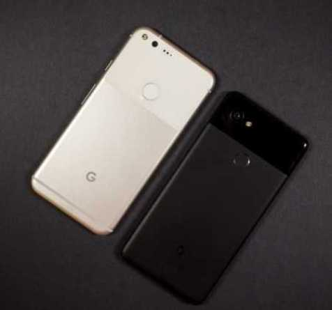 Google Pixel 2 XL and PIxel XL