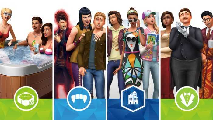 The Sims 4 is Getting 4 DLCs on Xbox One