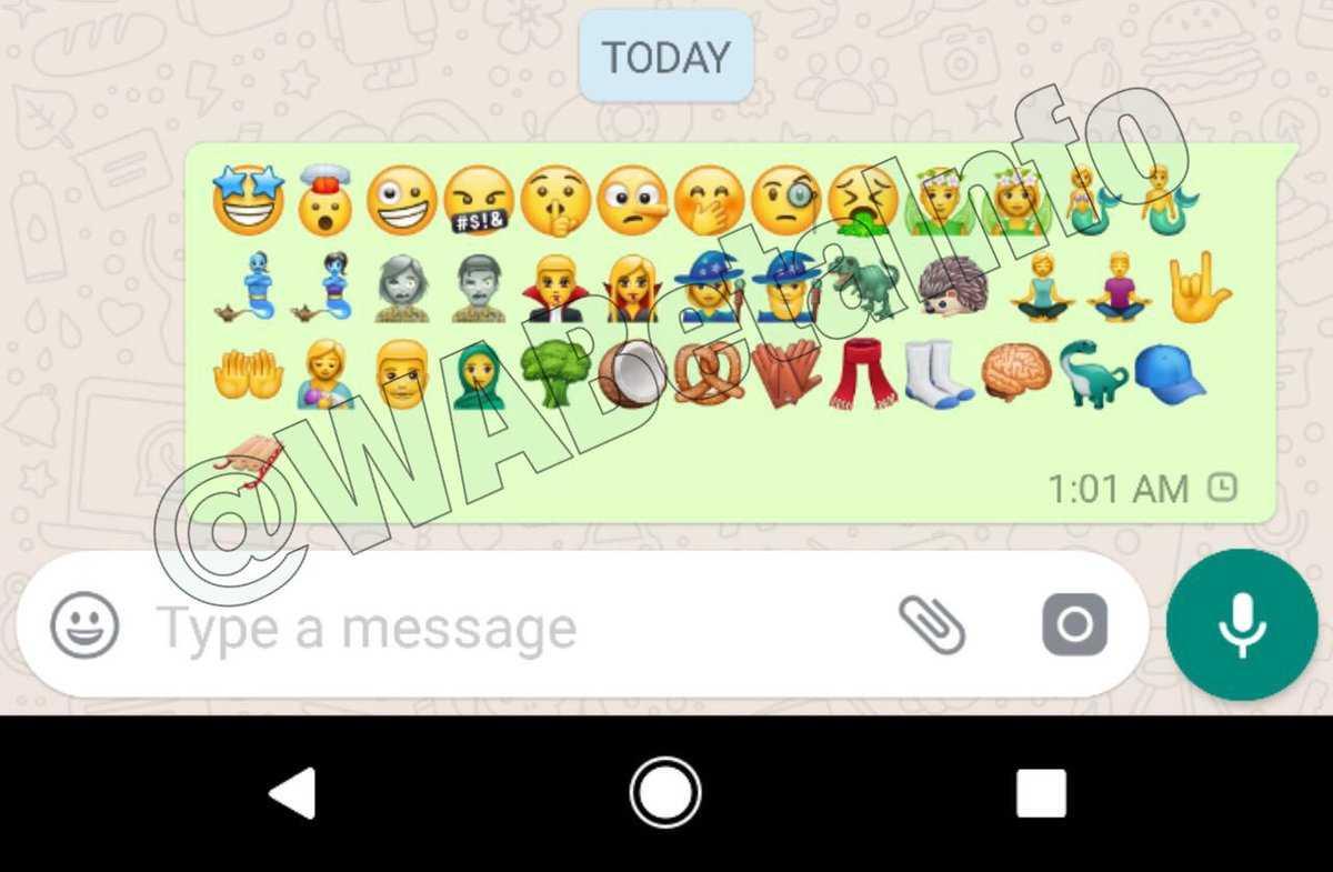 Whatsapp Emoji Update Android
