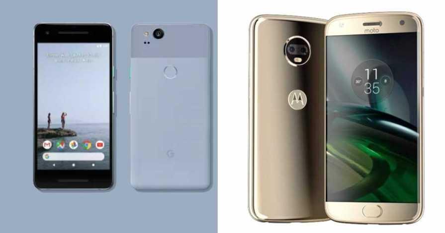 Pixel 2 vs Moto X4