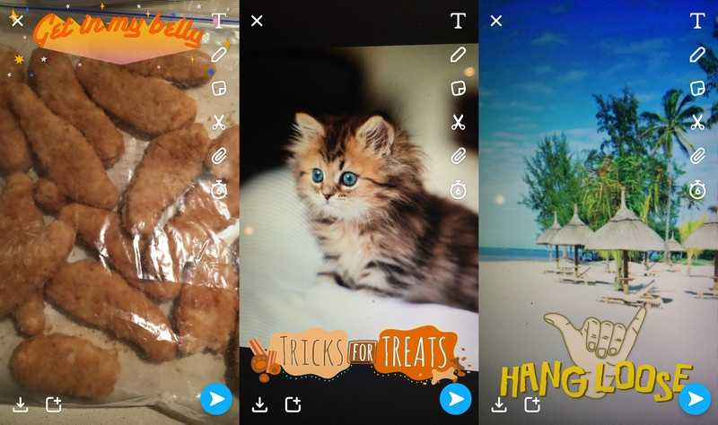 Snapchat's New Filters Recognize Food, Pets, and More