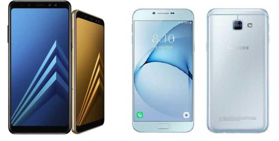 Samsung Galaxy A8 2018 vs Galaxy A8 2016