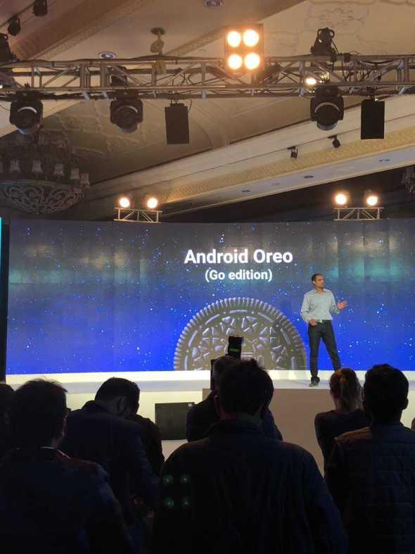 Google's Android Oreo Go