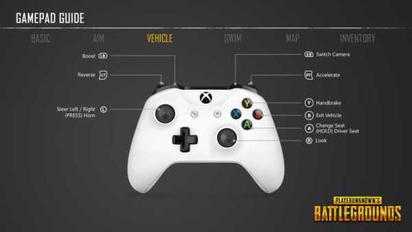 PUBG Simplified Xbox One Controls