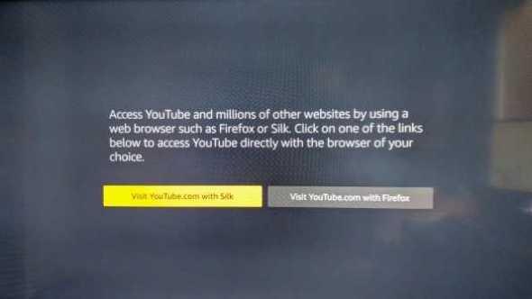 Youtube Will No Longer Work on Amazon