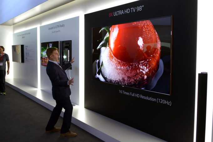 Samsung Unveils 146-Inch, Wall-Sized TV Called 'The Wall'
