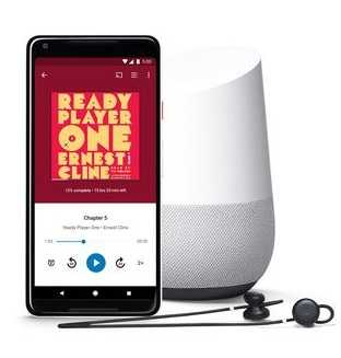 Google Play Launches Audiobooks Works on Google Home Speakers