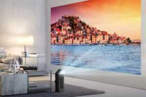 LG's New Tiny 4K Projector Can Deliver Massive 150-inch Screen on Any Wall