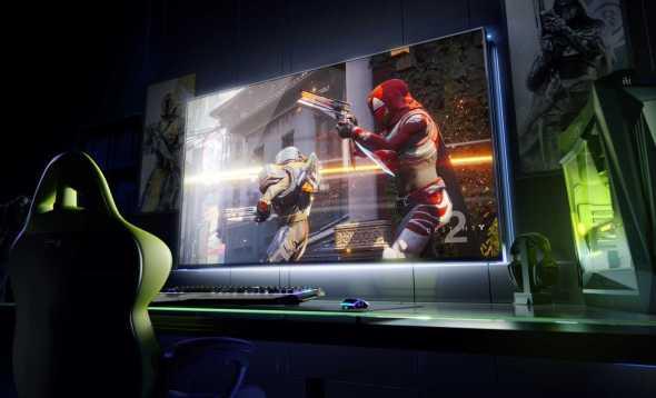 Nvidia's BFGD 65-inch 4K Displays