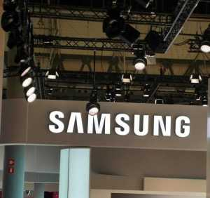 Samsung Foldable Smartphone CES 2018