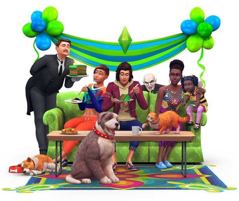The Sims 4 Introduces Darker Skin Shades, Curly Hair and a New T-Shirt