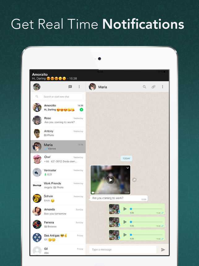 Whatsapp Web Ipad