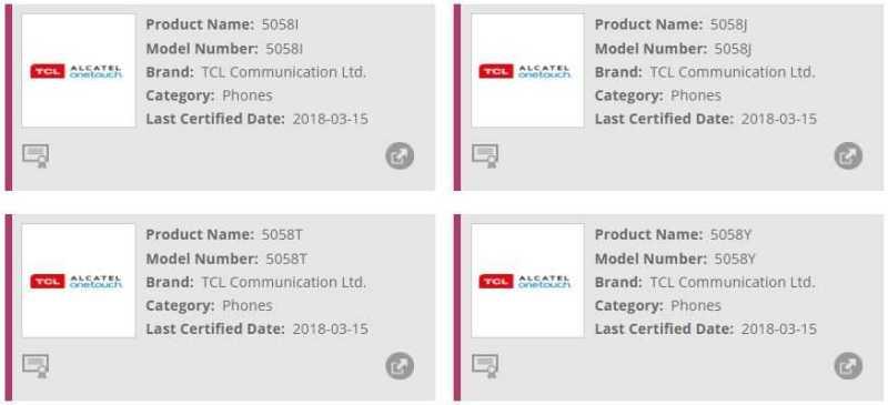 Alcatel 3X Wi Fi Certified
