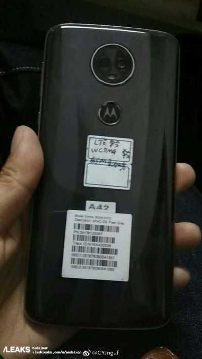 Moto E5 Plus Leaked Images