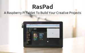 Raspberry Pi Tablet Raspad