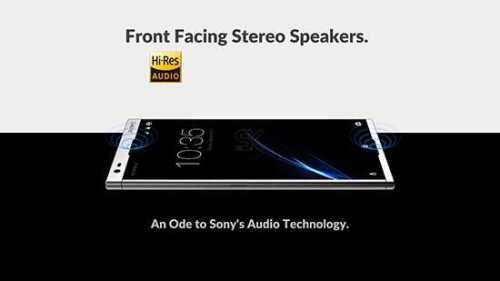 Sony A 2018 edition front speakers