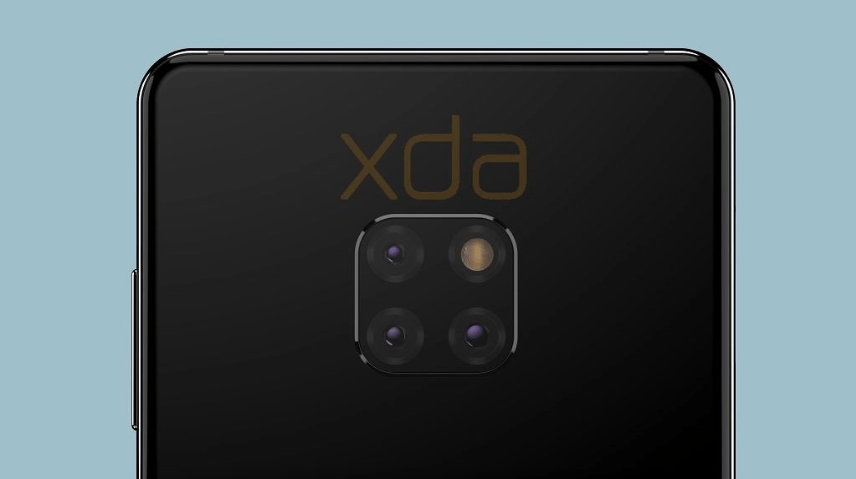 Huawei Mate 20 rear design