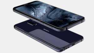 Nokia 7.1 Plus Render