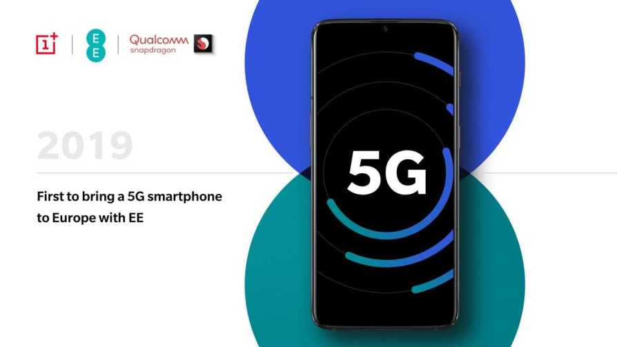OnePlus 5G Launching with EE
