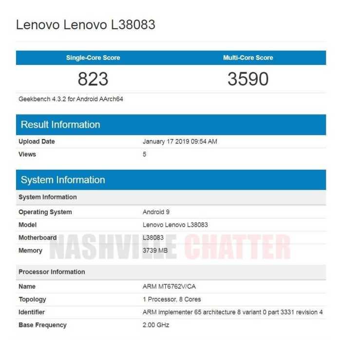 Lenovo L38083