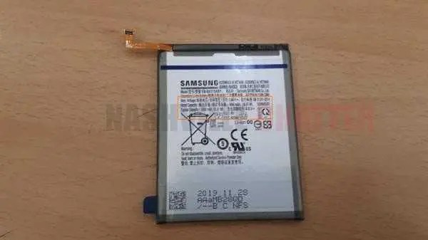 Galaxy A31 Battery