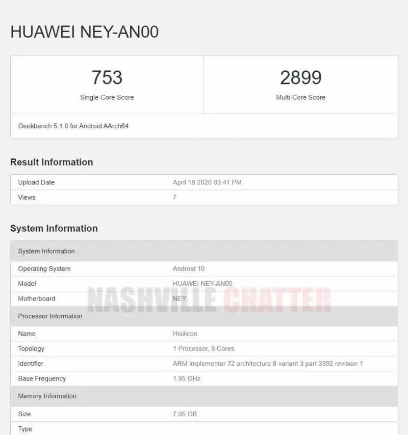 Huawei NEY-AN00