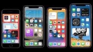 Apple iOS 14 widgets