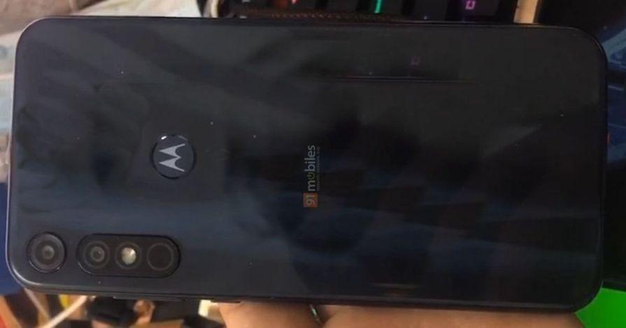 Moto E7 Plus Render