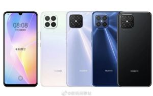 Huawei Nova 8 SE Renders