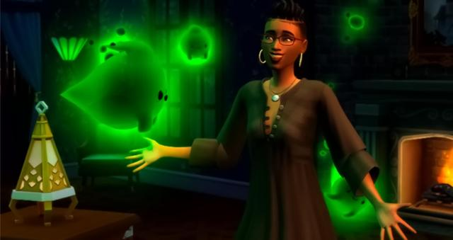 The Sims 4 Ghost Stuff Pack