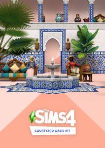 Sims 4 Courtyard Oasis Kit