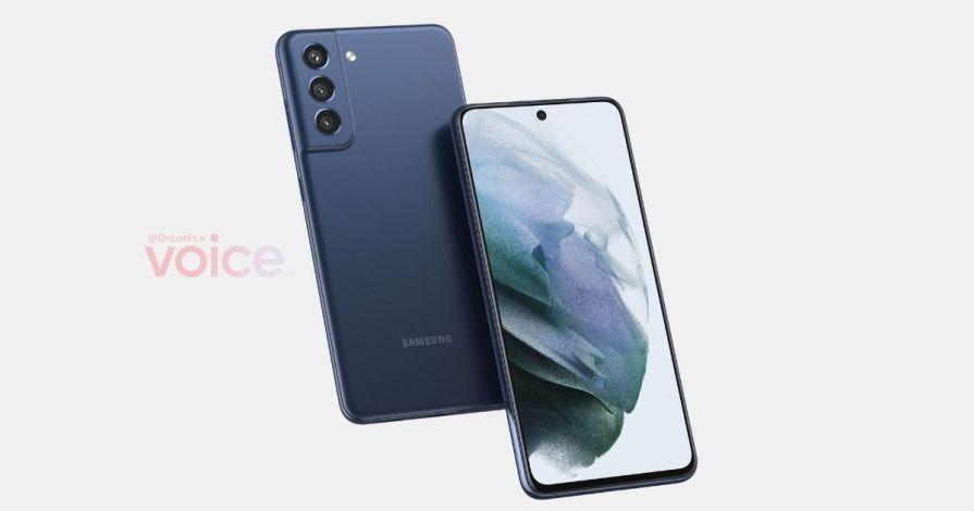 Samsung Galaxy S21 FE leaked render