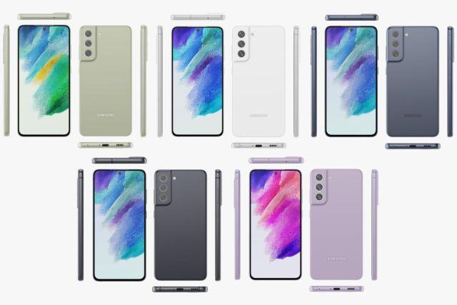 Samsung Galaxy S21 FE renders by Evan Blass