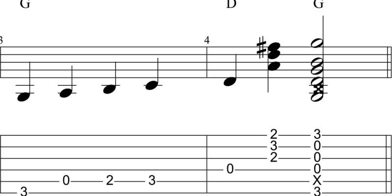 The Perpetual Beginner: how to play bass walks on guitar