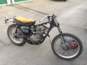 1972 Honda XL250, as-purchased for $80
