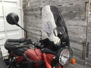 Headlight grill, Ural smoke windscreen