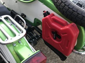 Accessory receiver and Fuelpax spare fuel carrier