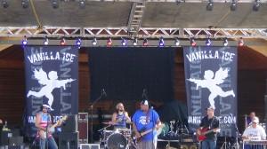 Wesley Pruitt at The Gun Barrel City July Fest.
