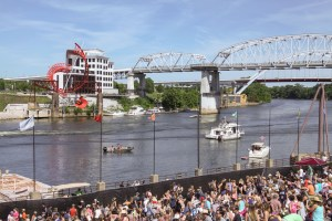 Boaters Enjoy the show