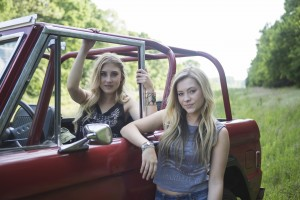"Maddie & Tae's ""Girl In A Country Song"" (directed by TK McKamy) was named CMA Music Video of the Year live on ""Good Morning America."" Credit: Allister Ann"