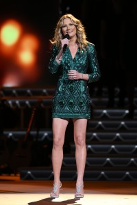 "Jennifer Nettles hosts ""CMA Country Christmas,"" taped at the Grand Ole Opry House in Nashville and airing Thursday, Dec. 3 at 8/7c on the ABC Television Network."