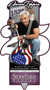 Stonehouse Winery's Aaron Tippin Country Jam wine