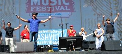 The stars of 'Nashville' celebrate the good news