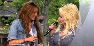 Miley Cyrus Dolly Parton Rainbowland